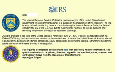 IRS Warns of Emails Spreading Ransomware